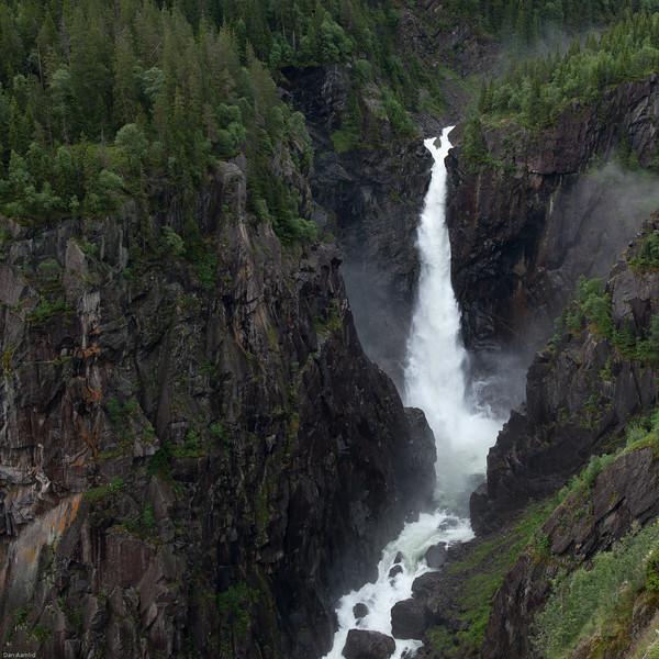 Rjukanfossen, 8. juli 2012