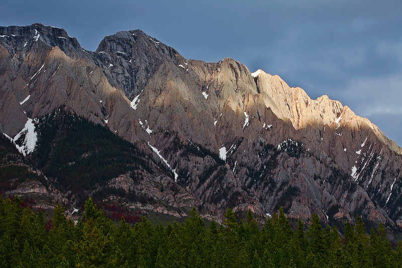 Canadian Rockies, Kananaskis Country, Peter Lougheed Provincial Park, Sunset, Landscape,  加拿大, 洛矶山脉, 风景