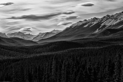 Mountains along Powderface trail