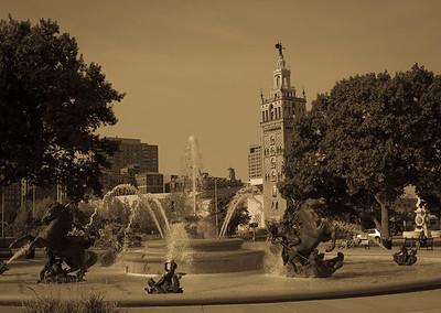 J C Nichols Fountain