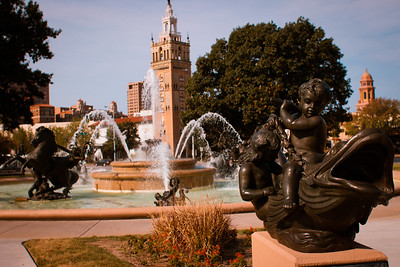 JC Nichols Fountain