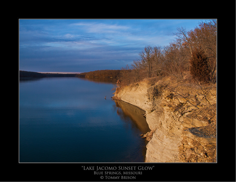 *BACKGROUND OF THE WEEK* for your computer.  This shot was taken tonight out at Lake Jacomo.  It is another shot that will show you how timimg and location and make for such beautiful landscape photography here in the Kansas City Area.  Shot on Feb. 1st, 2012.