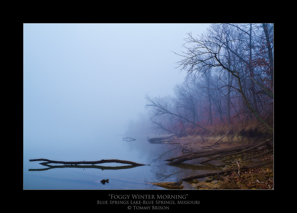 Shot on Jan. 26th, 2012 at Blue Springs Lake.  I love doing nature and landscape photography here in the Kansas City area.