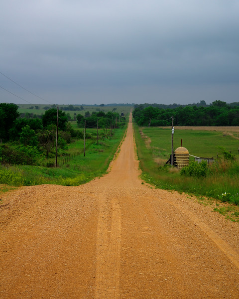Road Next to the Strader Farm
