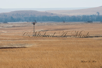 Windmill in the Flynt Hills