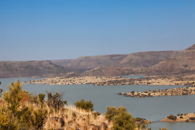 Vanderkloof dam, Orange River, South Africa