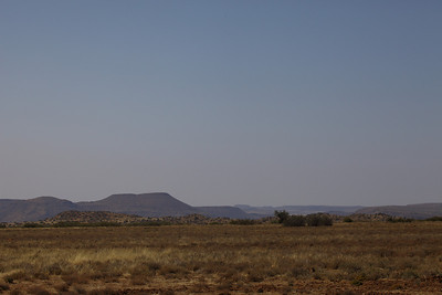 Landscape, near Petrusville, South Africa