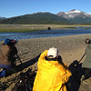 Katmai-Alaska-Kukak-Bay-Grizzly-Brown-Bears-John with bears shooting