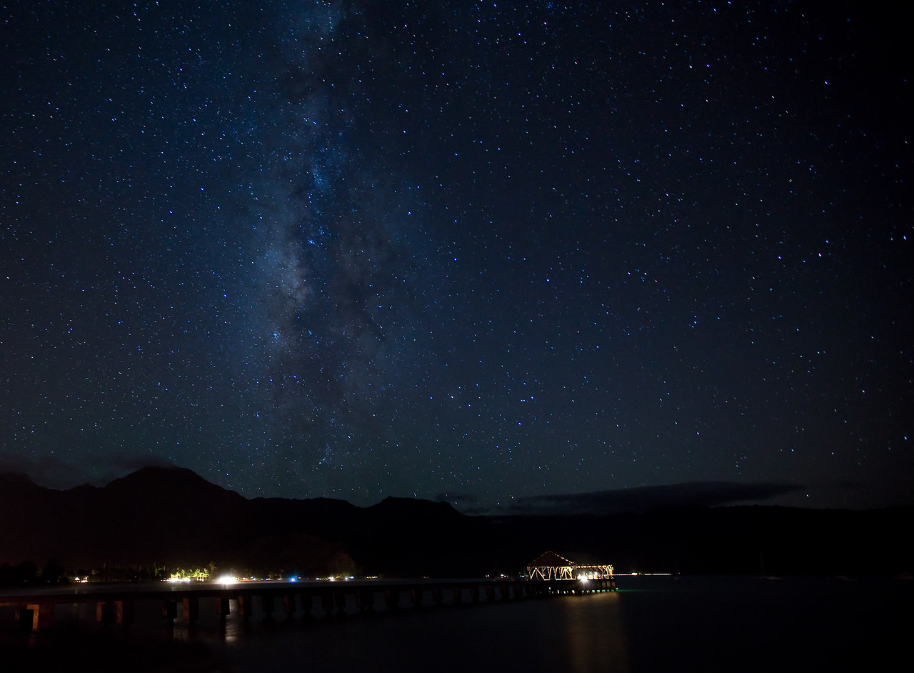 Hanalei Bay Milky Way