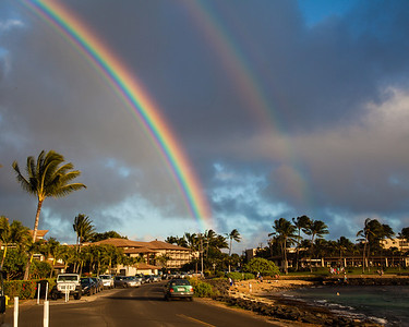 Rainbows, Kauai, HI.
