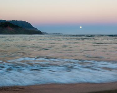 Bali Hai Moonset