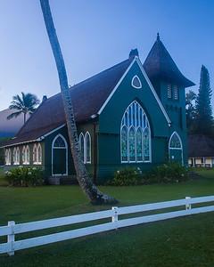 Wai'oli Church, Hanalei, Kauai, HI.