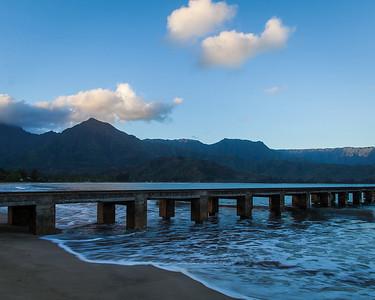 Hanalei Bay, Hanalei, Kauai, HI.