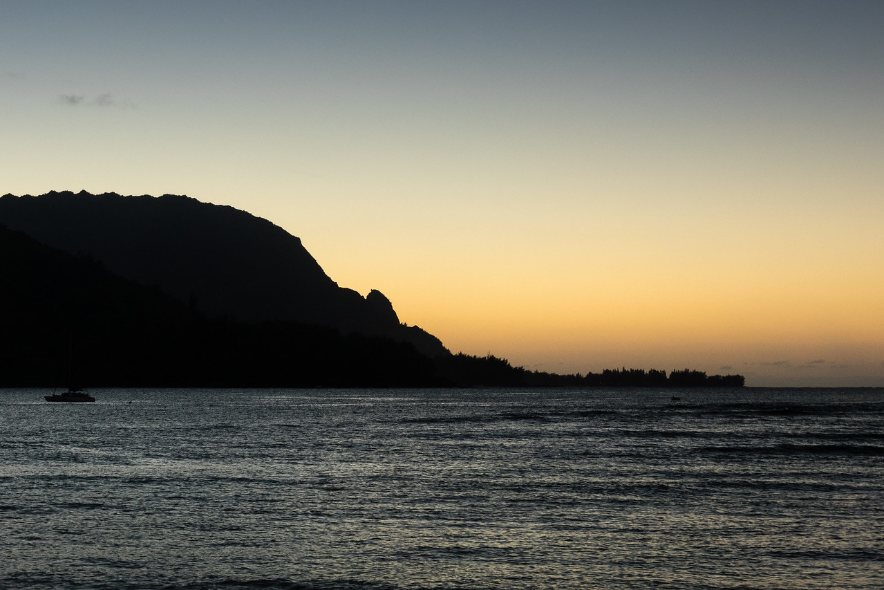 Bali Hai, Hanalei Bay, Kauai, HI.