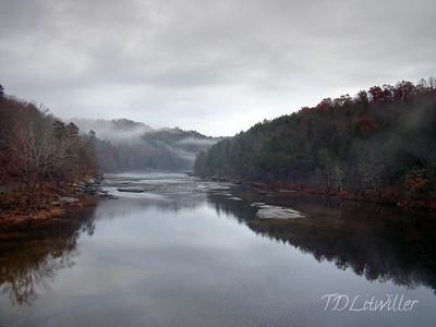 Cumberland River, Cumberland Falls State Park, KY