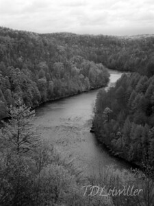 Cumberland River, Cumberland Falls State Park, KY   taken with an R72 filter