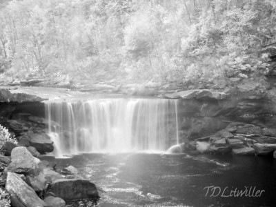 Cumberland Falls, Cumberland Falls State Park, KY Infrared   taken with an R72 filter