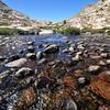 Sapphire Lake Outlet, Evolution Basin, Kings Canyon National Park.
