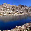 Sapphire Lake Panorama, Evolution Basin, Kings Canyon National Park.