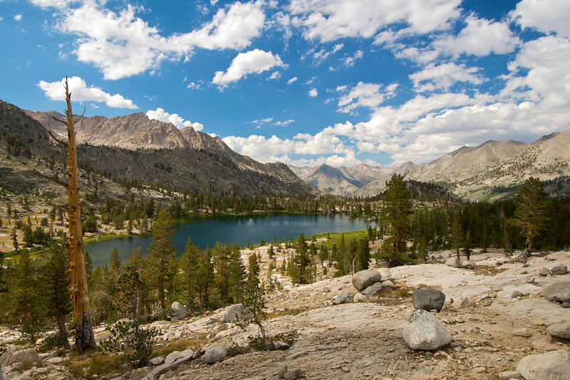 Arrowhead Lake, Kings Canyon National Park.