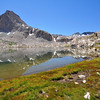 Mt. Spencer, Sapphire Lake, Evolution Basin, Kings Canyon National Park.