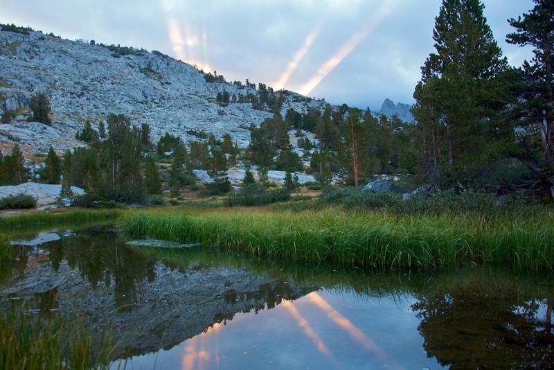 Dawn, Dusy Basin, Kings Canyon National Park