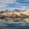 Wanda Lake, Mt. Mendel, Mt. Darwin, Kings Canyon National Park