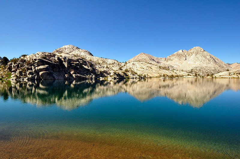 Evolution Lake, Kings Canyon National Park.