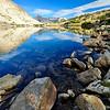 Dawn, Lake Marjorie, Kings Canyon National Park.