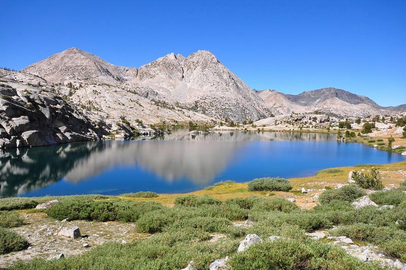 Evolution Lake, Evolution Basin, Kings Canyon National Park.