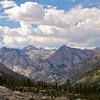 Castle Domes, Window Peak, South Baxter Creek Drainage, Kings Canyon National Park.