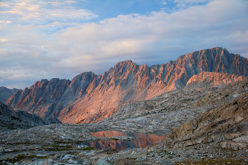 Mt. Mendel, Mt. Darwin, Kings Canyon National Park