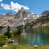 Dragon Peak, Painted Lady, Mt. Rixford, Rae Lakes, Kings Canyon National park