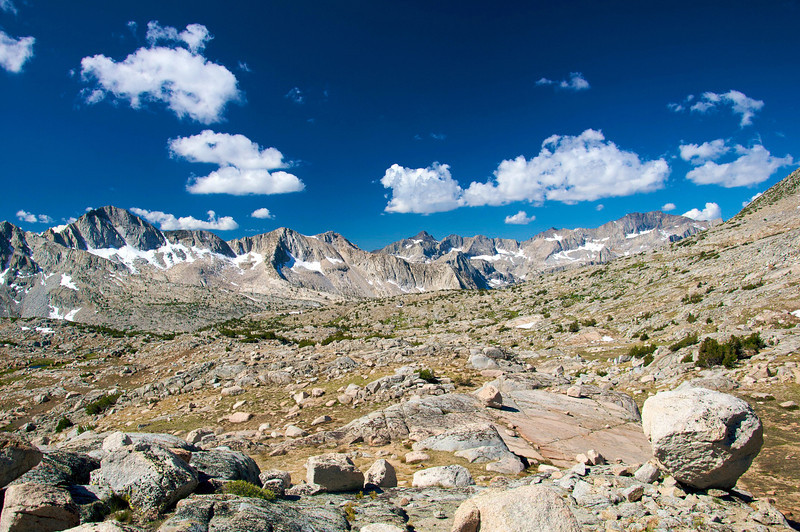 Dusy Basin, Kings Canyon National Park.