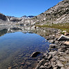 Sapphire Lake, Kings Canyon National Park.