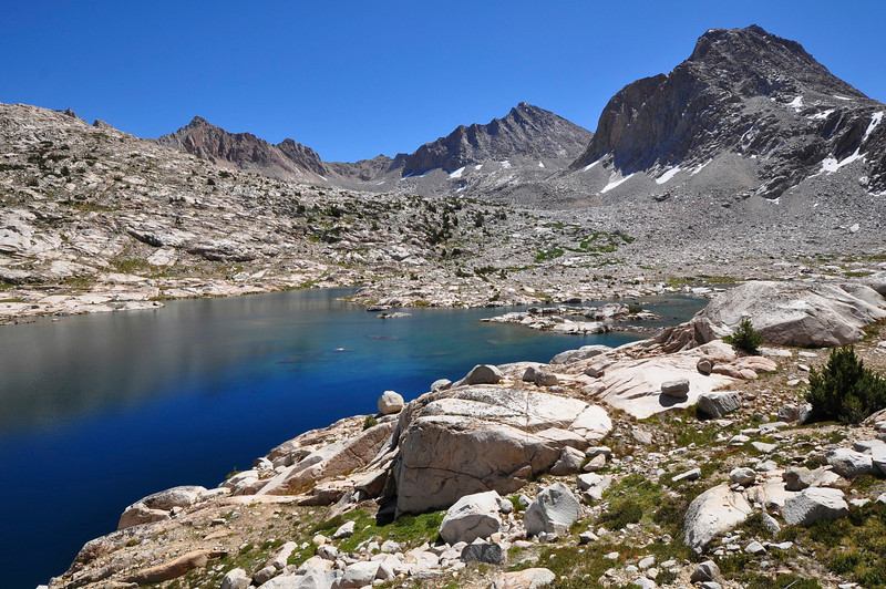 Goddard Divide, Sapphire Lake, Evolution Basin, Kings Canyon National Park.