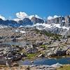Isosceles Peak, Dusy Basin, Kings Canyon National Park.