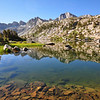 Dusy Basin, west side of Palisades, Kings Canyon National Park.