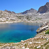 Sapphire Lake, Goddard Divide, Kings Canyon National Park.