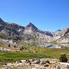 Mt. Spencer, Mt. Huxley, Evolution Basin, Kings Canyon National Park.