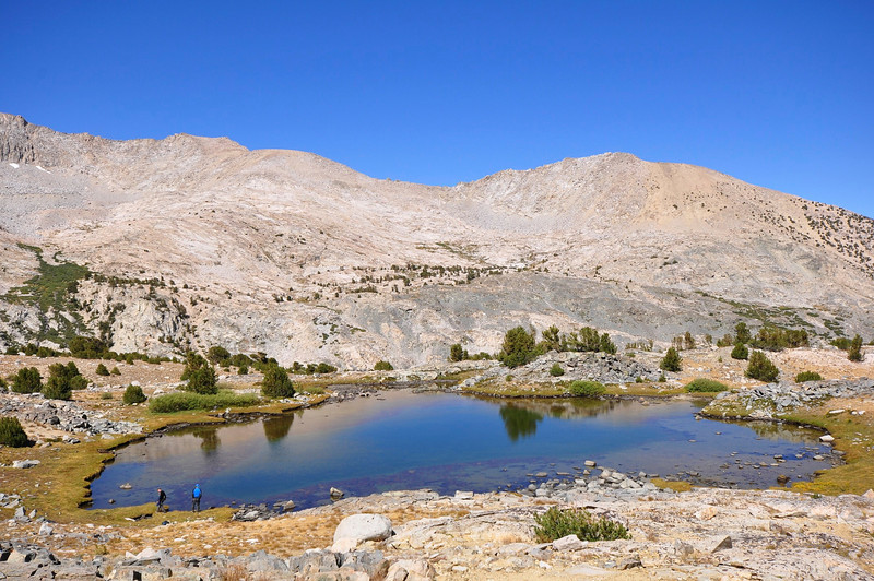 Pond north of Forester Pass, Kings Canyon National Park.
