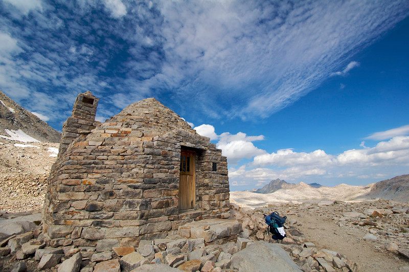 Muir Hut, Muir Pass, Kings Canyon National Park