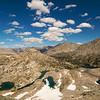 The view north from Glen Pass, Kings Canyon National Park.