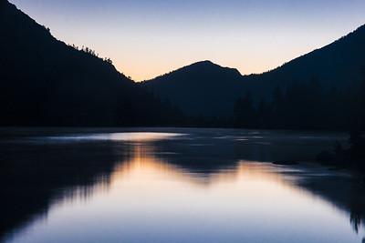 Charlotte Lake at Dusk