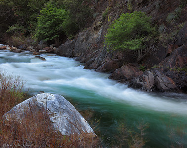 South Fork Kings River in Kings Canyon Sierra Nevada