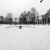Snow Circle.<br /> Kongens Have, Copenhagen, Denmark.