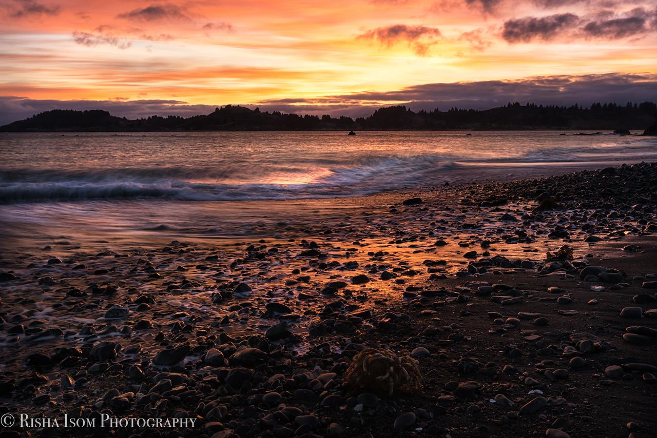 Golden Light of Jewel Beach