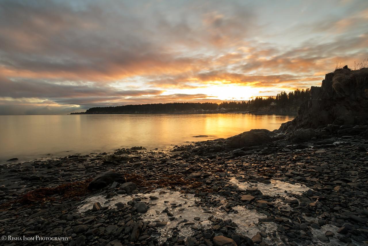Mill Bay Beach Sunrise