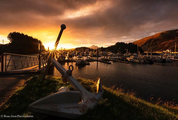 An Anchored Sunset