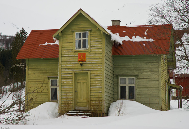 Old post office in Western Norway